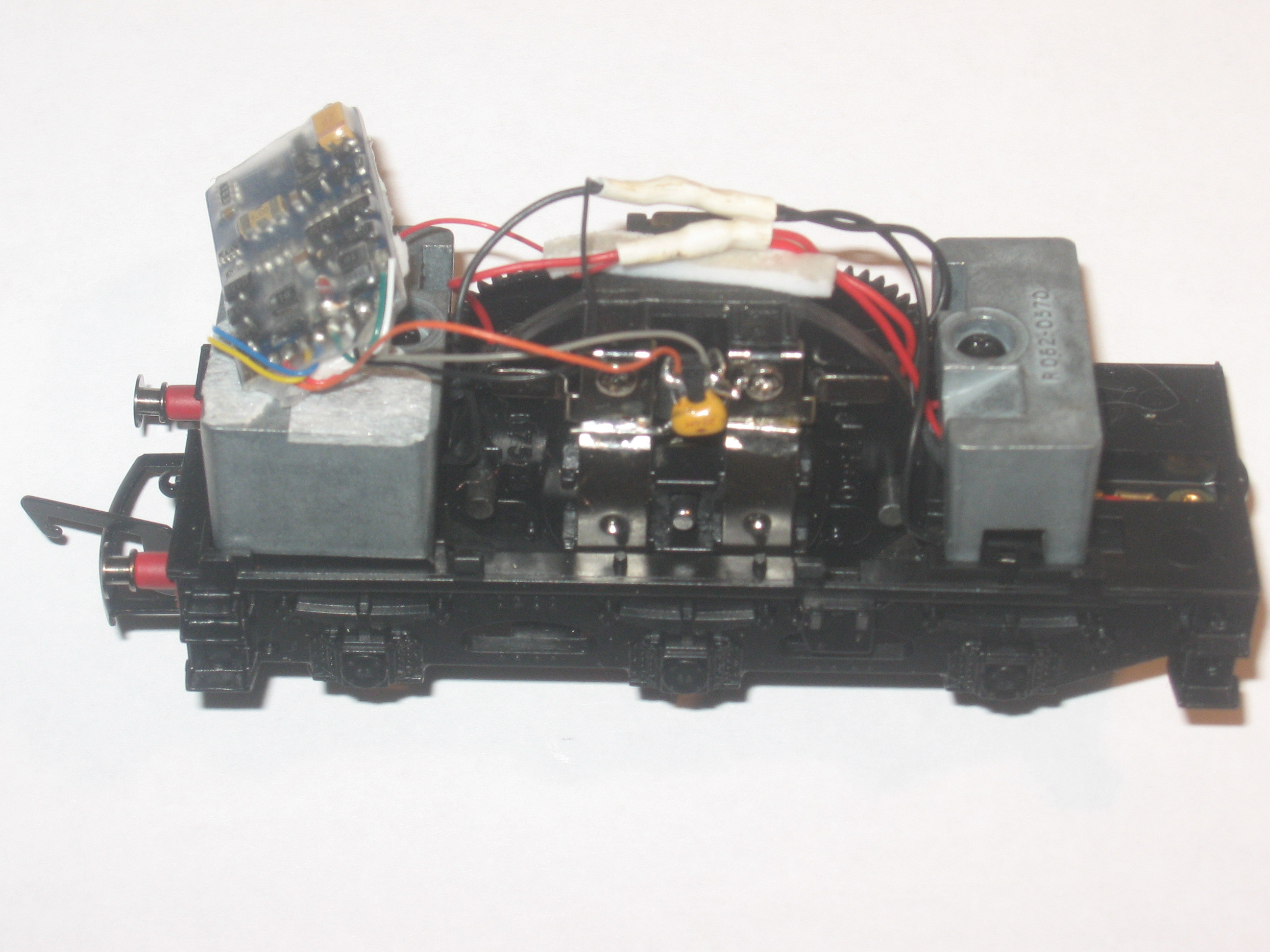 The 'Newer' Ringfiled motor fitted witha Bachmann decoder
